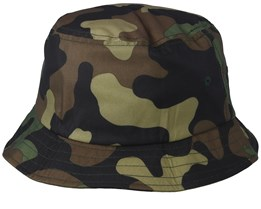 Green Camo Bucket - Yupoong