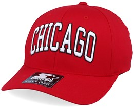 Chicago Cap Red/White Flexfit - Starter