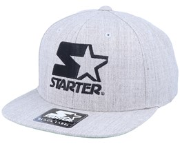 Logo Snapback Heather Grey/Black Snapback - Starter