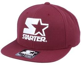 Logo Maroon/White Snapback - Starter