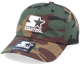 Logo Dad Cap Green Camo Adjustable - Starter