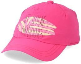Kids Supplex Shoreline Cap Tropic Pink Adjustable- Jack Wolfskin