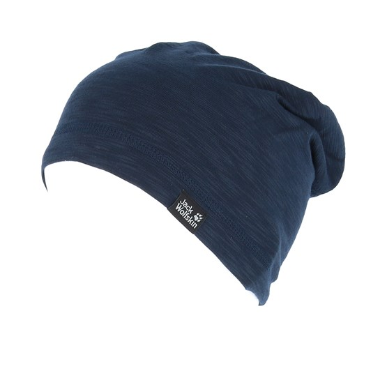 d8dcf8cb5 Travel Beanie Night Blue Beanie - Jack Wolfskin