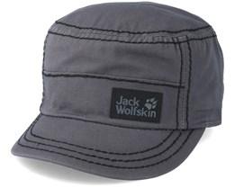Bahia OC Cap Dark Steel Grey Army - Jack Wolfskin