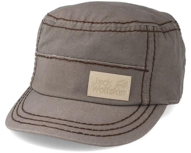 da7b584489a Bahia OC Cap Siltstone Grey Army - Jack Wolfskin caps