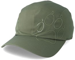 Active Fold-Away Cap Woodland Green Flexfit- Jack Wolfskin