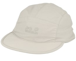Supplex Road Trip Light Sand 5-Panel - Jack Wolfskin