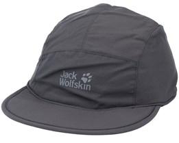 Supplex Road Trip Cap Dark Steel 5-Panel - Jack Wolfskin