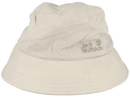 Supplex Sun Hat Light Sand Bucket - Jack Wolfskin