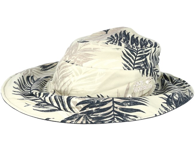 857be081bd390 Wahia Palm Hat Women Dusty Grey All over Traveller - Jack Wolfskin hats -  Hatstoreworld.com