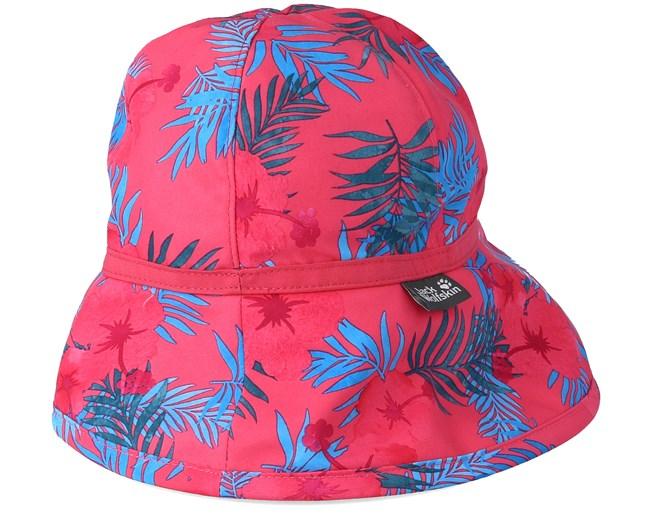 Kids Supplex Magic Forest Tropic Pink Bucket Jack Wolfskin