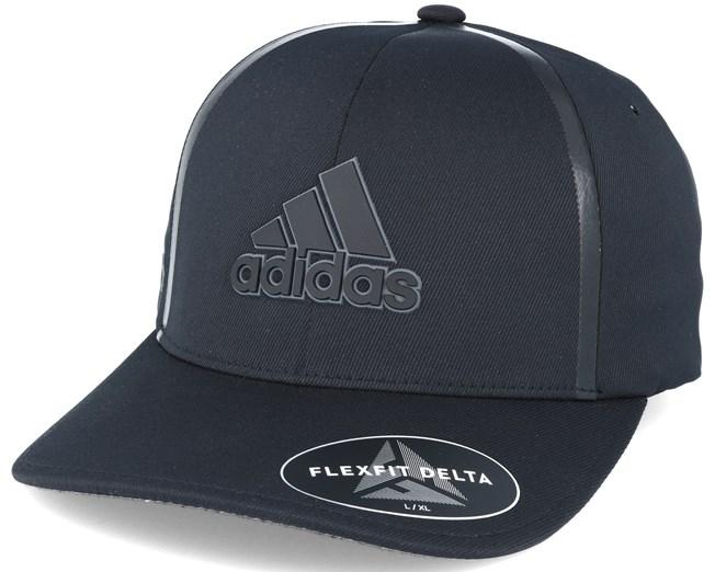 newest collection b1342 2dfbc Deltatxt Black Flexfit - Adidas lippis - Hatstore.fi