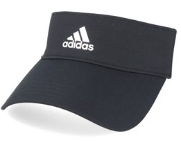 3 Stripe Black Visor - Adidas