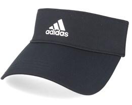3 Stripe Black Visor - Adidas