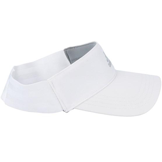 93c45ac8f59 Three Stripe White Visor - Adidas caps - Hatstoreworld.com
