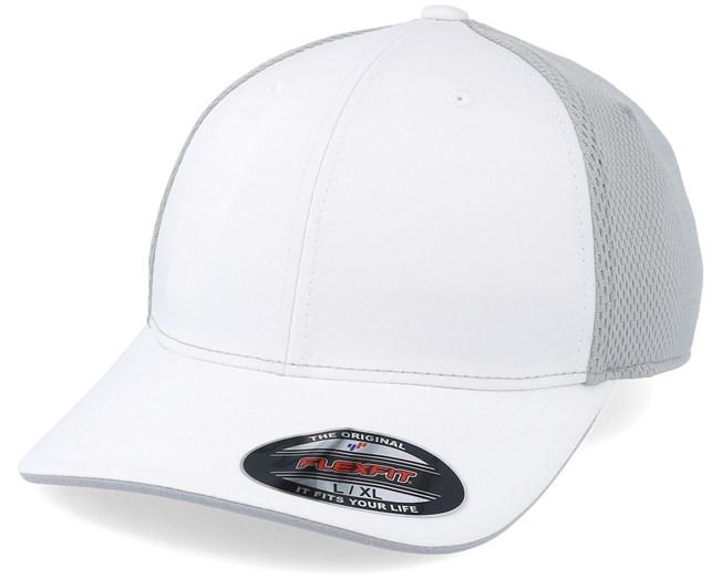 Tourstretch Climacool Side Logo White Grey Flexfit - Adidas lippis -  Hatstore.fi eaf2a01106