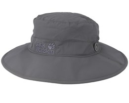 Supplex Mesh Dark Steel Bucket - Jack Wolfskin