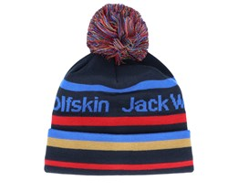 Kids Pride Night Blue Pom - Jack Wolfskin
