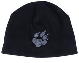 Paw Hat Black/Grey Beanie - Jack Wolfskin