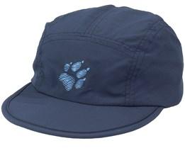 Supplex Canyon Cap Night Blue Ear Flap - Jack Wolfskin