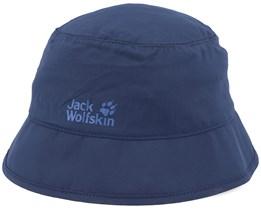 Kids Supplex Safari Night Blue Bucket - Jack Wolfskin