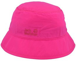 Kids Supplex Safari Pink Peony Bucket - Jack Wolfskin