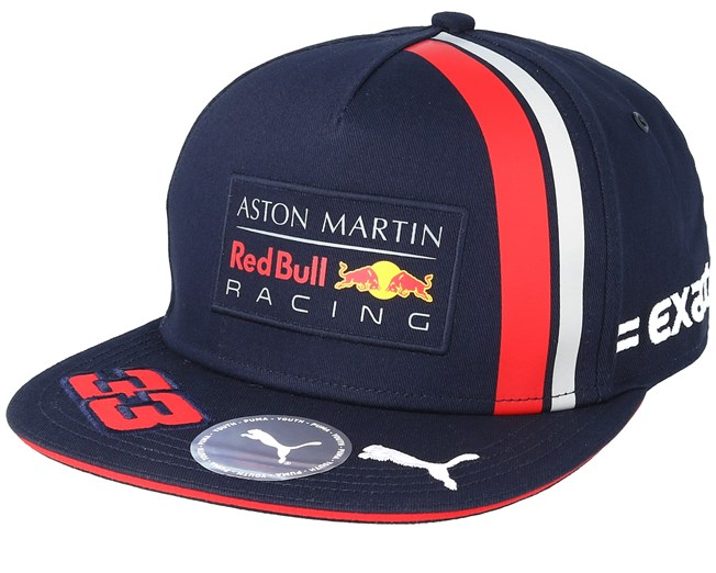 986ad3278c5 Kids Red Bull Racing M.VERSTAPPEN FB Navy Snapback - Formula One caps