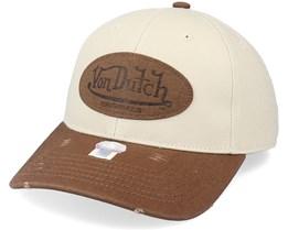 Baseball Stone/Brown Adjustable - Von Dutch