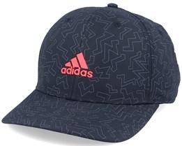 Golf Color Pop Black/Red Adjustable - Adidas