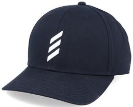 Golf Bold Stripe Black/White Adjustable - Adidas