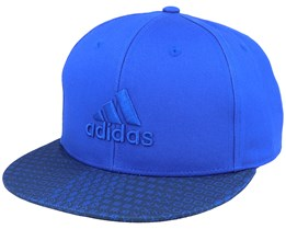 Golf Printed Bill Royal Blue/Navy Snapback - Adidas