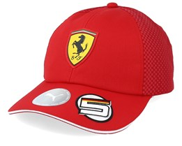 Kids Scuderia Ferrari BB S.VETTEL Red Adjustable - Formula One