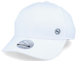 Women's Sport Cap White Adjustable - Puma