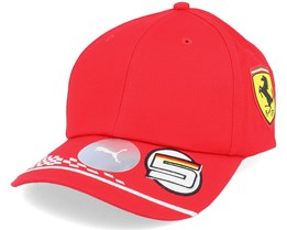 Ferrari Vettel Cap Red Adjustable - Formula One