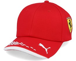 Kids Ferrari Rp Kids Bb Cap Black Adjustable - Formula One