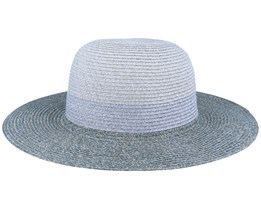 Floppy In Stripe Design Ivory/Flanell Grey Sun Hat - Seeberger
