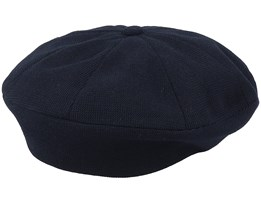 Viscose-Mix Black Beret - Seeberger
