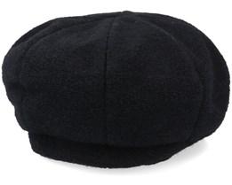 Wool Blend Black Beret - Seeberger