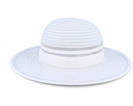 Floppy With Transparent Insert White Sunhat - Seeberger