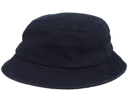 Cotton Twill Black Bucket - Stetson