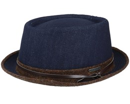26 Denim Pork Pie - Stetson