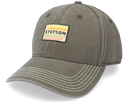 Baseball Cotton Olive Adjustable - Stetson