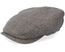 Driver Cap Virgin Wool/Linen Flat Cap - Stetson