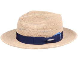 Tiller Raffia Crochet Straw Hat - Stetson