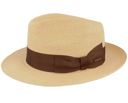 Hemp Natural Fedora - Stetson
