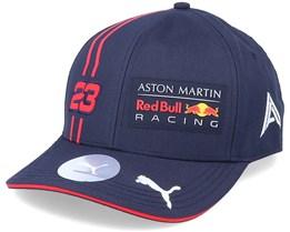 Red Bull Alex Albon Driver 2 Navy/Red Adjustable - Formula One