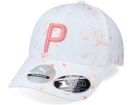 Womens Floral Bright White Adjustable - Puma