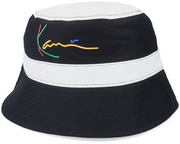 Signature Black/White Bucket - Karl Kani