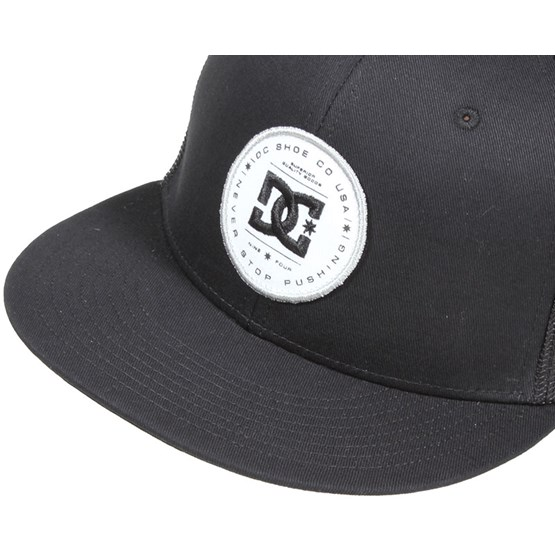 Daxbred Black Snapback - DC - Start Kšiltovka - Hatstore.cz f447b4161a
