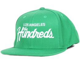 f930fd647b2f9 Forever Team Green Snapback - The Hundreds